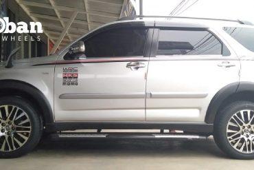 Toyota Rush Ganti Ban Accelera Phi R, Gagah!